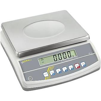 Table top scales Kern Weight range 6 kg Readability 0.05 g