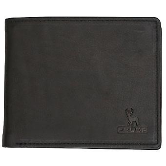 Felda Genuine Soft Leather Mens Bi Fold Wallet Credit Card Slots Presentation Gift Box