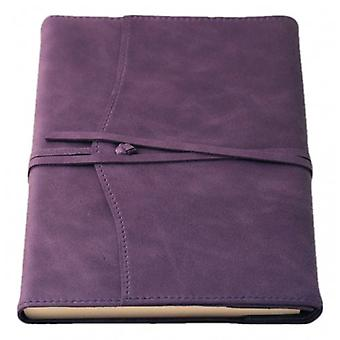 Coles Pen Company Amalfi Large Refillable Diaries - Aubergine Purple