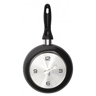 Balance wall clock 35 cm Analogue dark grey/Silver