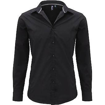Premier Mens Friday Long Sleeve Polycotton Smart Casual Business Shirt