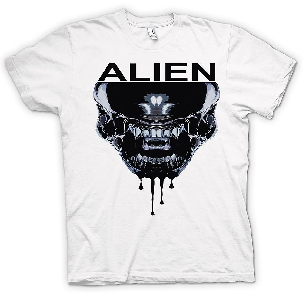 Womens T-shirt - Alien Face - Sci Fi - Pop Art
