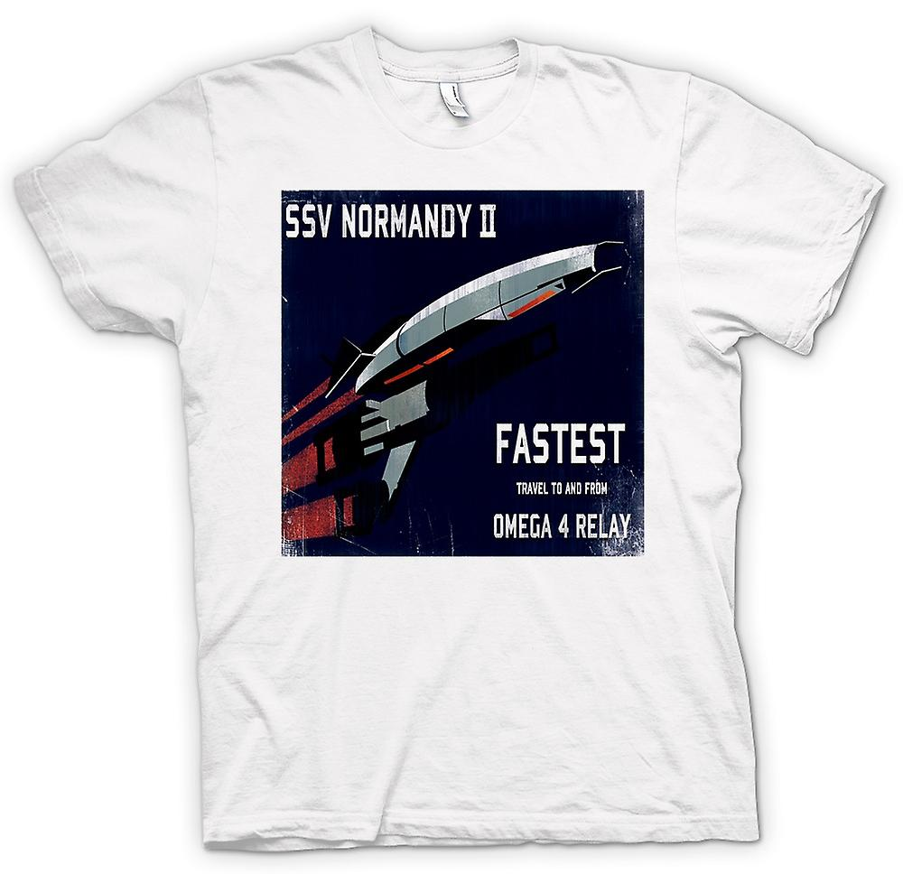 Mens T-shirt - Mass Effect Ssv Normandy II