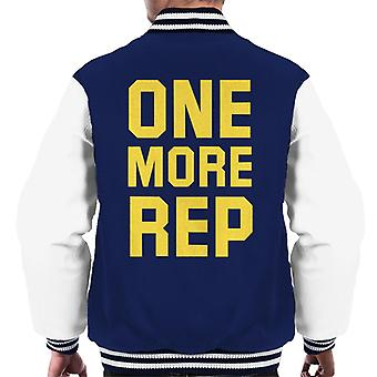 One More Rep Gym Inspiration Men's Varsity Jacket