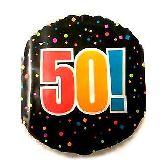 Happy 50 års fødselsdag folie ballon