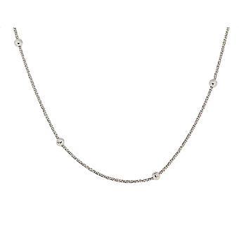Orphelia sølv 925 kæde 42 + 3 Cm bolde ZK-7201