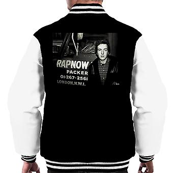 Joe Strummer The Clash Men's Varsity Jacket