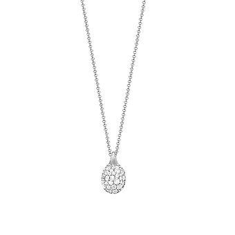 Cadena collar plata cúbicos Circonia de la mujer de Joop BLAKE JPNL90759A420