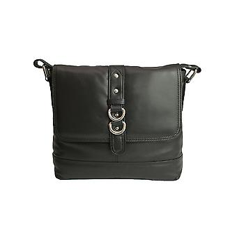 Eastern Counties Leather Womens/Ladies Jude Stud And Ring Detail Handbag