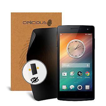Celicious Privacy 2-Way Visual Black Out Screen Protector for OPPO R3