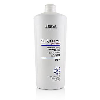 L'oreal Professionnel Serioxyl Glucoboost Clarifying Shampoo (coloured Thinning Hair) - 1000ml/33.8oz