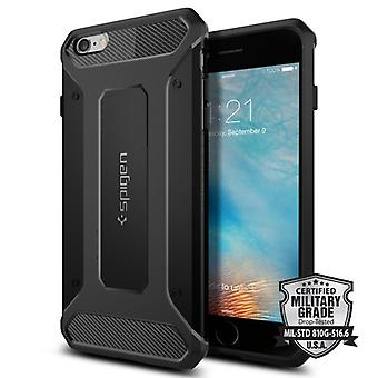 Spigen Rugged Armor to the iPhone 6/6S Plus Black