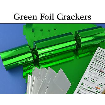Green Foil Make & Fill Your Own Cracker Making Craft Kits, Boards & Accessories