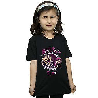 Poopsmoothie flickor Bulk och skallen Visa T-Shirt