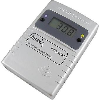 Arexx PRO-55int Data logger - sensor Unit of measurement Temperature -55 up to 125 °C Calibrated to Manufacturer