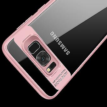 Ultra slim case for Samsung Galaxy S8 plus mobile case protection cover rose +
