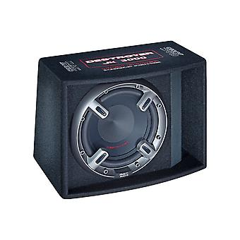 Mac audio destroyer JK 3000, bass reflex subwoofer with 300 mm bass drivers, color: black, 1 piece new goods