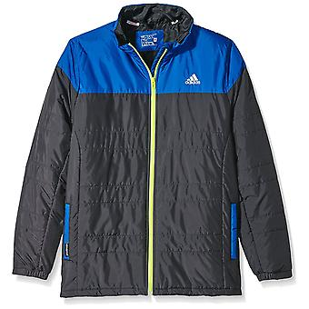 Adidas Childrens Light Jacket Black/Blue Size:116 Age 5-6Y