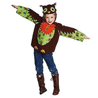 Coruja coruja traje animal traje para crianças