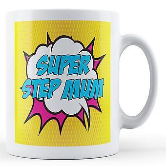 Super Schritt Mama Pop Art Becher - bedruckte Becher