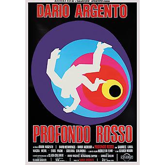 Profondo Rosso Poster  italienisches Filmplakat (David Hemmings)