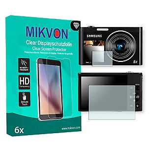 Samsung DV300F Screen Protector - Mikvon Clear (Retail Package with accessories)