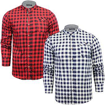 Brave Soul Mens Spirit Long Sleeve Brushed Cotton Check Checked Lumberjack Shirt