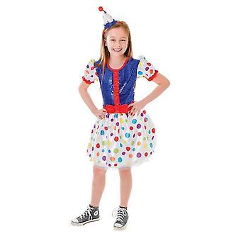 Clown robe + bandeau (grand âge 9-12)
