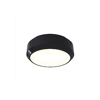 Ansell Delta LDelta LED 8W LED Circular BulkheadED  - Electronic Photocell 14W LED Black / Visiluxe