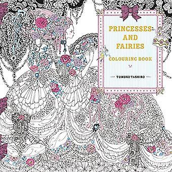 Prinzessinnen Färbung Buch von Tomoko Tashiro - 9781843653172 Buch
