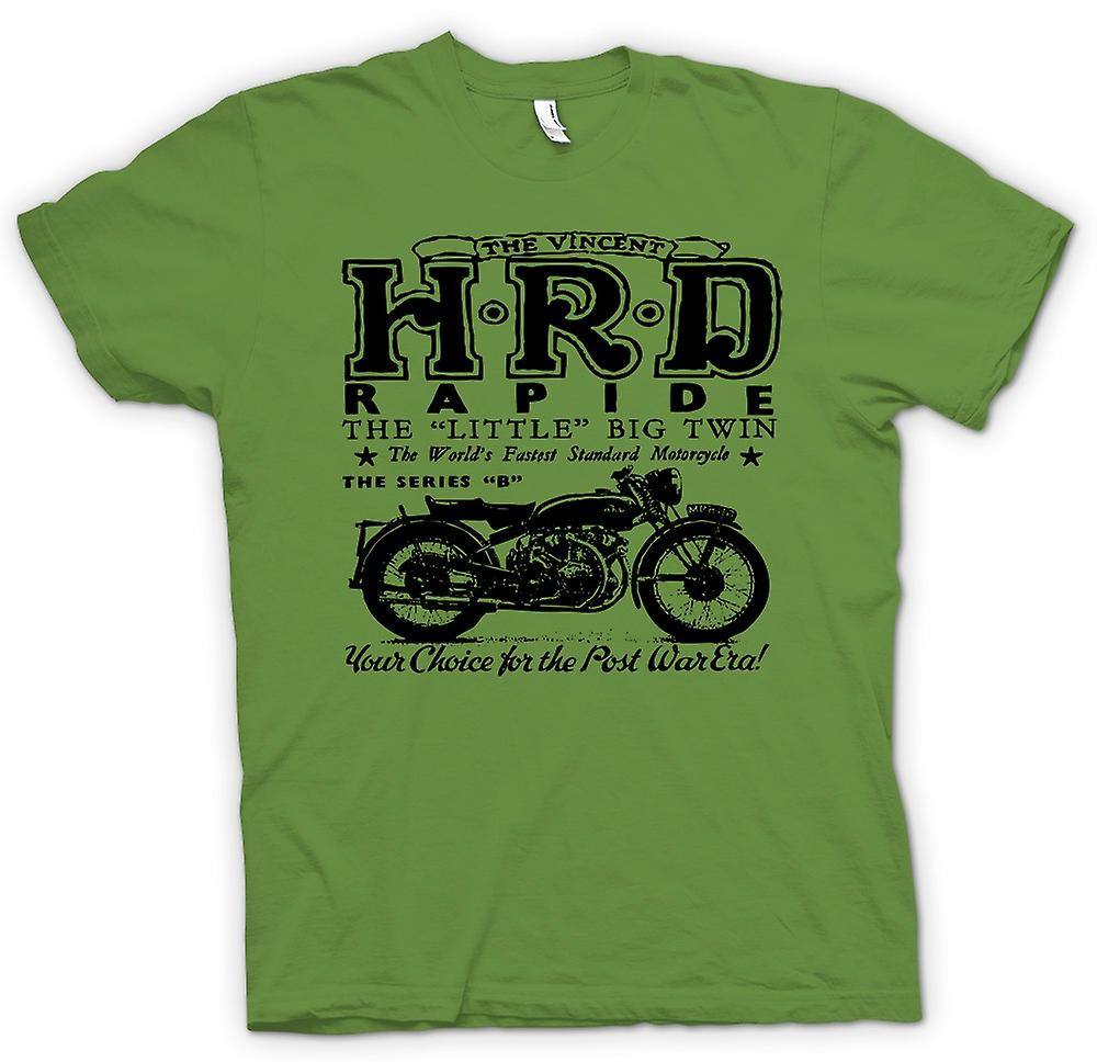 Mens T-shirt - Vincent Hrd Rapide - Classic Bike