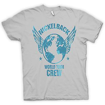 Mens T-shirt - Nickelback World Tour Crew