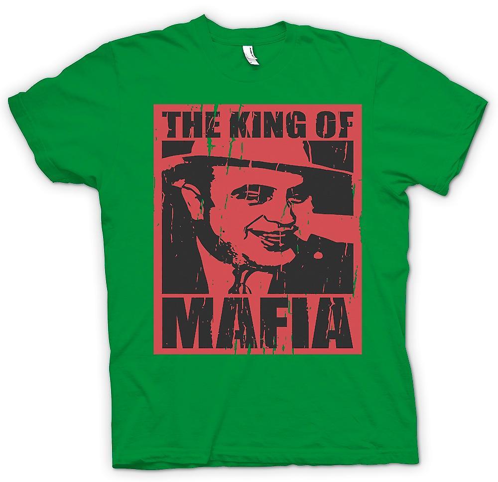 Heren T-shirt - de koning van maffia - Al Capone
