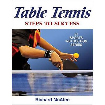 Table Tennis by Richard Ernest McAfee - 9780736077316 Book