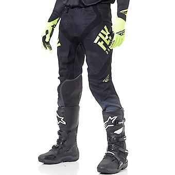 Fly Racing Black-Hi-Vis 2019 Lite Hydrogen MX Pant