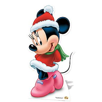 Minnie Mouse Mrs Claus Lifesize Cardboard Cutout / Standee