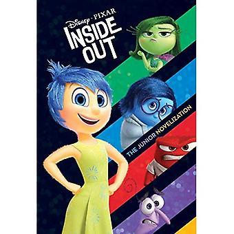 Novelização avesso Júnior (Disney/Pixar dentro para fora)