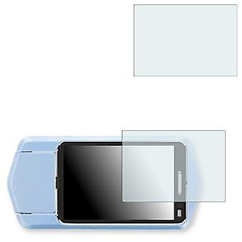 Casio Exilim EX-TR200 display protector - Golebo crystal clear protection film