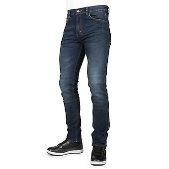 Bull-It Blue Tactical SP75 Slim - Short Motorcycle Jeans