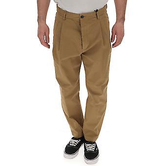 Dsquared2 Beige Cotton Pants