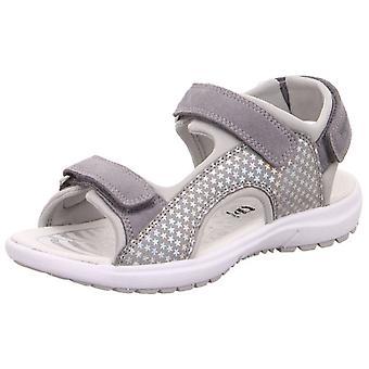 Superfit flickor Rainbow 9205-25 sandaler grå
