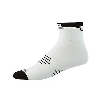 Pearl Izumi White Elite Cycling Socks
