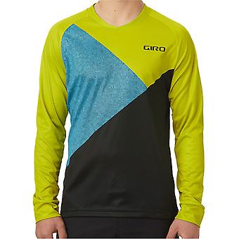 Giro Citron Green Shadow 2019 Roust Long Sleeved MTB Jersey