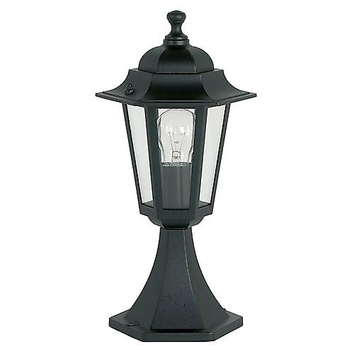 Endon YG-2002 Traditional Style Black Aluminium Outdoor 6-Sided Post Top
