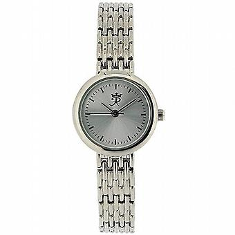 Realm Ladies Round Quartz Analogue Silver Tone Bracelet Strap Watch RB-64L