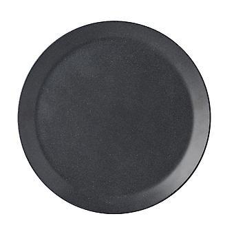Mepal Bloom Melamine Dinner Plate, Pebble Black