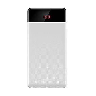 Baseus Externe 10.000mAh Powerbank Emergency Battery Charger White