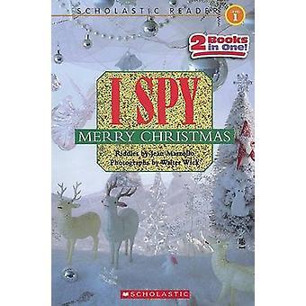 I Spy Merry Christmas - I Spy Santa Claus/I Spy a Candy Cane by Jean M