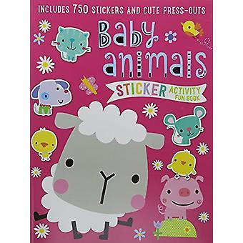 Sticker Activity Book Baby Animals by Make Believe Ideas Ltd - 978178
