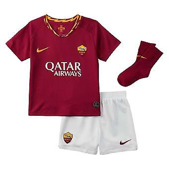 2019-2020 AS Roma Home Nike Infants Kit